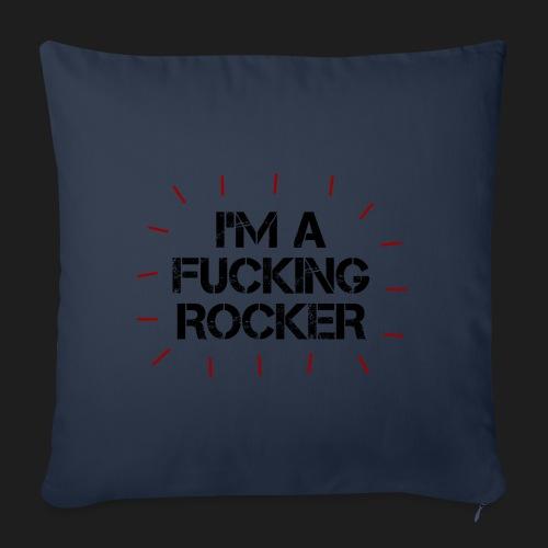 I'M A FUCKING ROCKER - Copricuscino per divano, 45 x 45 cm
