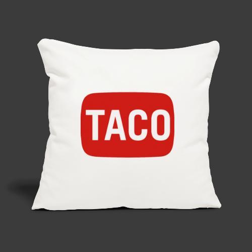 Taco Karsten Youtube Logo 2 - Pudebetræk 45 x 45 cm