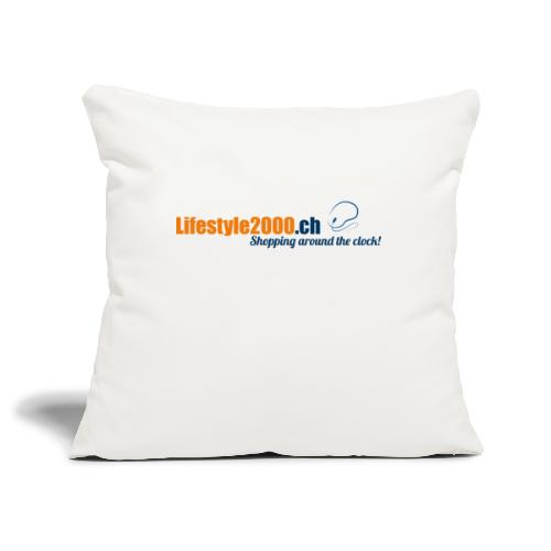 lifestyle 2000 Original Logo - Sofakissenbezug 44 x 44 cm