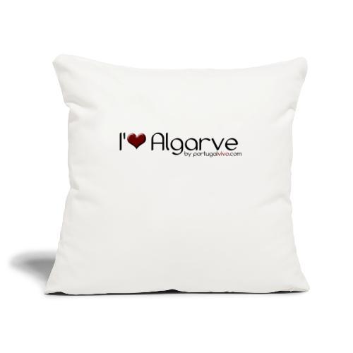 I Love Algarve - Housse de coussin décorative 45x 45cm