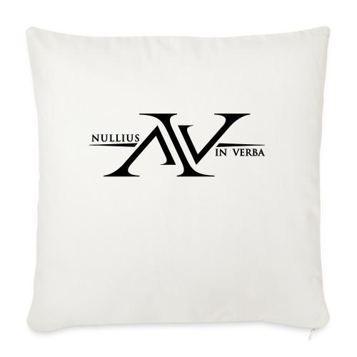 Nullius In Verba Logo - Sofa pillowcase 17,3'' x 17,3'' (45 x 45 cm)