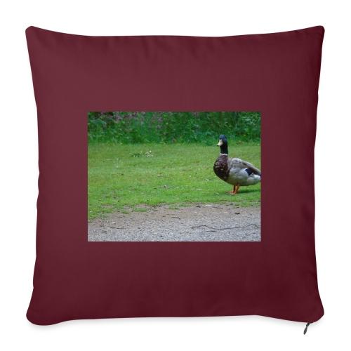 A wild duck - Sofa pillowcase 17,3'' x 17,3'' (45 x 45 cm)