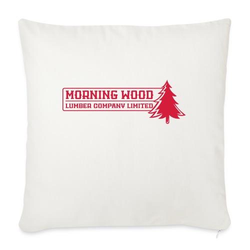 Morning Wood Lumber Company - Sofa pillowcase 17,3'' x 17,3'' (45 x 45 cm)