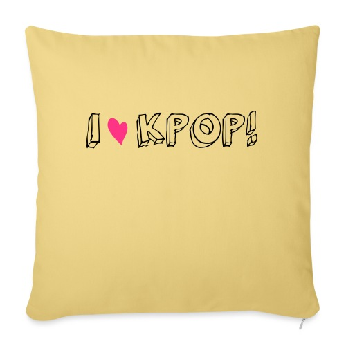 I love kpop! - Sofakissenbezug 44 x 44 cm