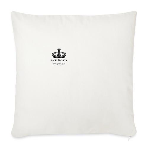 william - Sofa pillowcase 17,3'' x 17,3'' (45 x 45 cm)