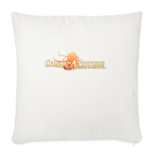 logo oa v3 v1 fond clair - Housse de coussin décorative 45x 45cm
