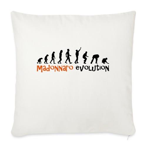 madonnaro evolution original - Sofa pillowcase 17,3'' x 17,3'' (45 x 45 cm)