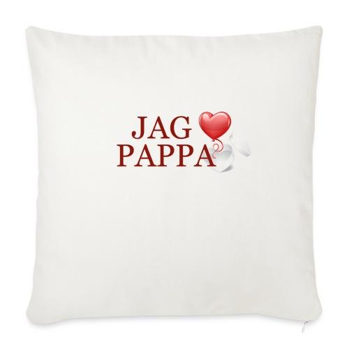 Jag älskar pappa - Soffkuddsöverdrag, 45 x 45 cm