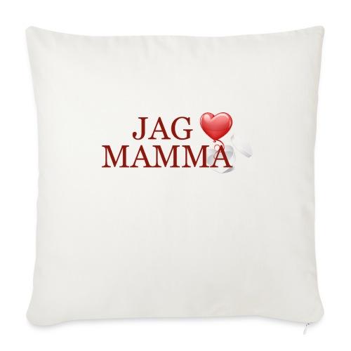 Jag älskar mamma - Soffkuddsöverdrag, 45 x 45 cm