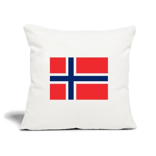 Bandera de Noruega - Funda de cojín, 45 x 45 cm