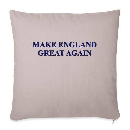 MAKE ENGLAND GREAT AGAIN - Sofa pillowcase 17,3'' x 17,3'' (45 x 45 cm)