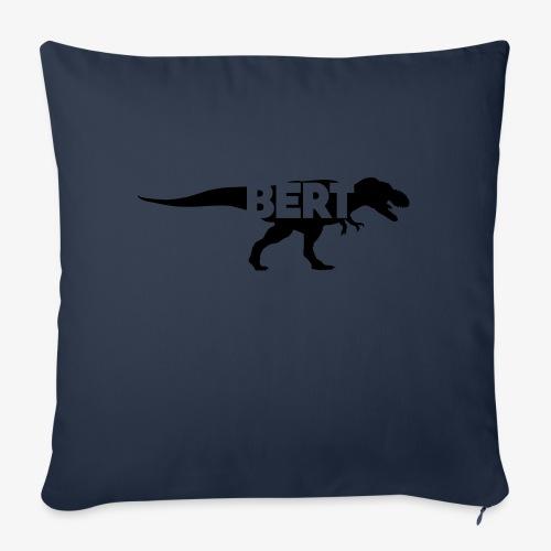 Bert dino - Sierkussenhoes, 45 x 45 cm