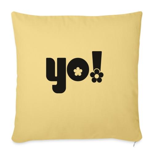 Yo - Pudebetræk 45 x 45 cm