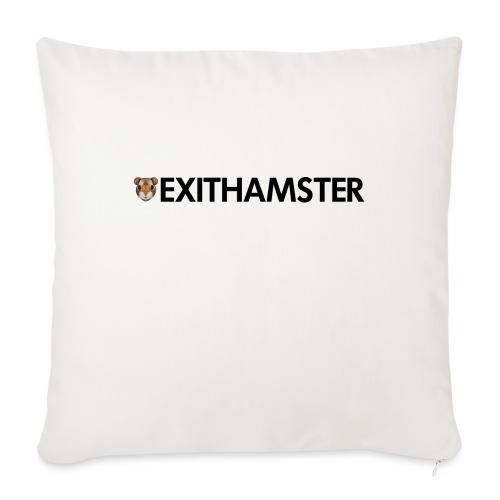 HAMSTER HEAD LETTERING - Sofa pillowcase 17,3'' x 17,3'' (45 x 45 cm)