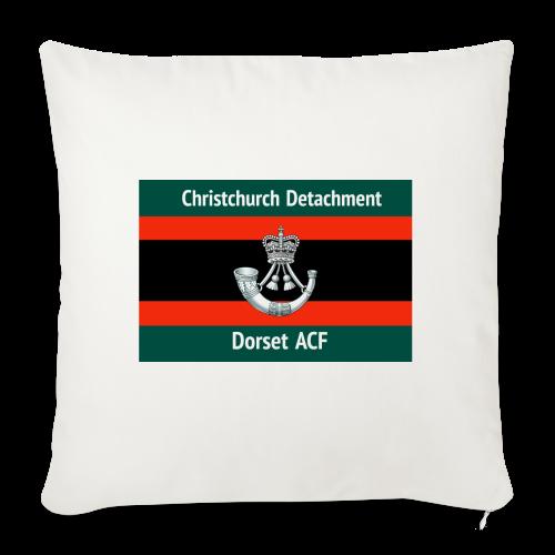 Christchurch Detachment / Dorset ACF - Sofa pillowcase 17,3'' x 17,3'' (45 x 45 cm)