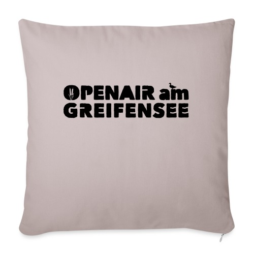 Openair am Greifensee 2018 - Sofakissenbezug 44 x 44 cm