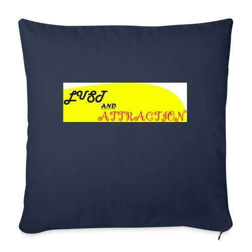 lust ans attraction - Sofa pillowcase 17,3'' x 17,3'' (45 x 45 cm)