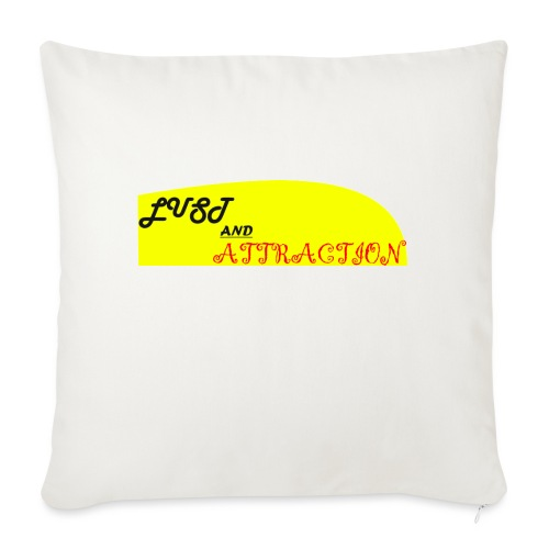 lust ans attraction - Sofa pillowcase 17,3'' x 17,3'' (45 x 45 cm)