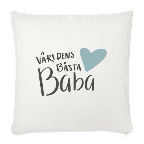 Världens bästa Baba - Soffkuddsöverdrag, 45 x 45 cm