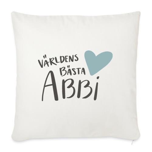 Världens bästa Abbi - Soffkuddsöverdrag, 45 x 45 cm