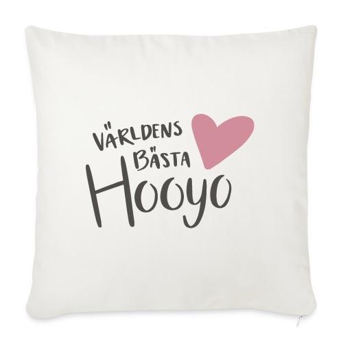 Världens bästa Hooyo - Soffkuddsöverdrag, 45 x 45 cm