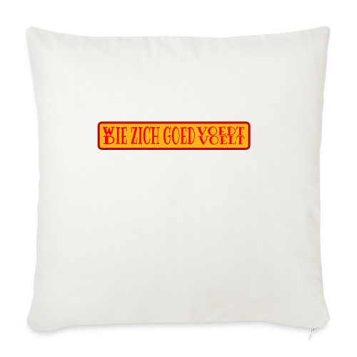 wie en die png - Sofa pillowcase 17,3'' x 17,3'' (45 x 45 cm)