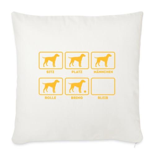 Für alle Hundebesitzer mit Humor - Sofakissenbezug 44 x 44 cm