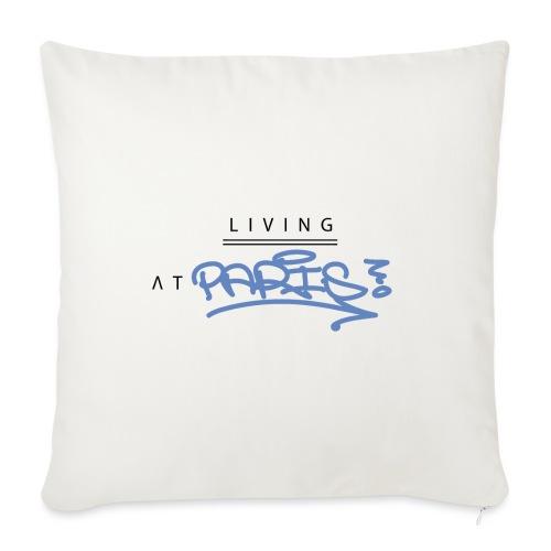 Living @ Paris street letters - Housse de coussin décorative 45x 45cm