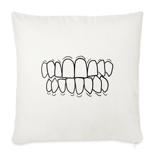 TEETH! - Sofa pillowcase 17,3'' x 17,3'' (45 x 45 cm)