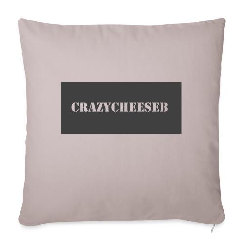 Logo design - Sofa pillowcase 17,3'' x 17,3'' (45 x 45 cm)
