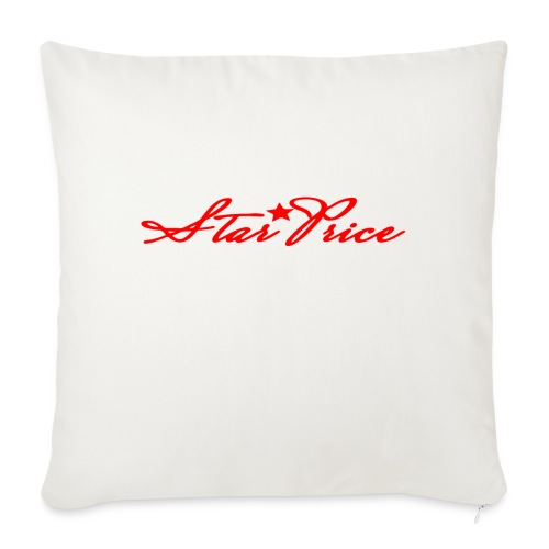star price (red) - Sofa pillowcase 17,3'' x 17,3'' (45 x 45 cm)