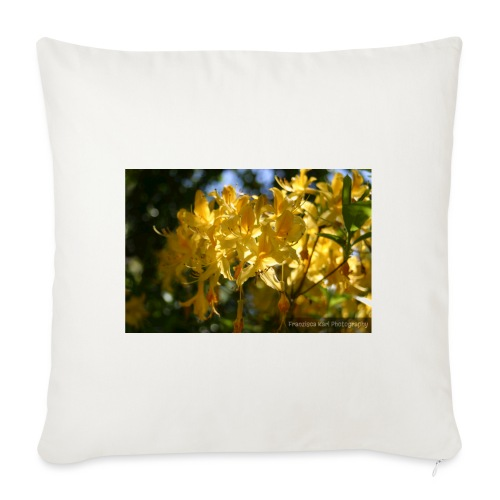 Yellow Lilles - Sofa pillowcase 17,3'' x 17,3'' (45 x 45 cm)