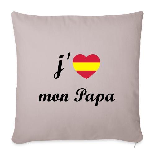 J'aime mon papa - Espagne - Housse de coussin décorative 45x 45cm