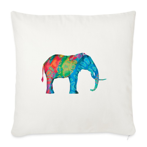 Elefant - Sofa pillowcase 17,3'' x 17,3'' (45 x 45 cm)