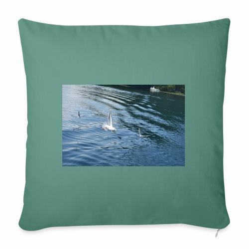 un Gabbiano che vola - Copricuscino per divano, 45 x 45 cm