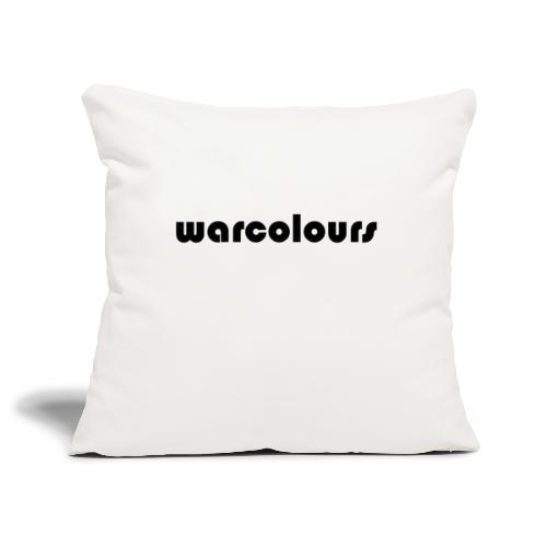 warcolours logo - Sofa pillowcase 17,3'' x 17,3'' (45 x 45 cm)
