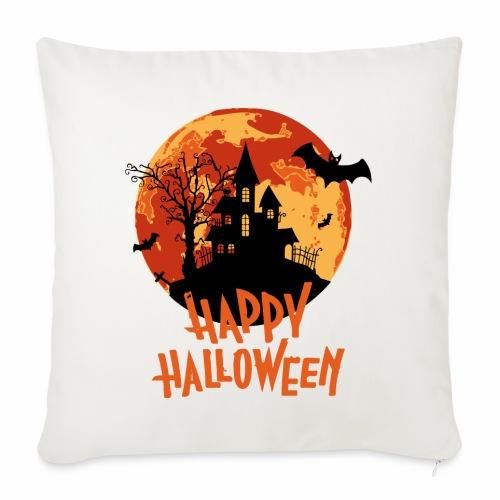 Bloodmoon Haunted House Halloween Design - Sofakissenbezug 44 x 44 cm