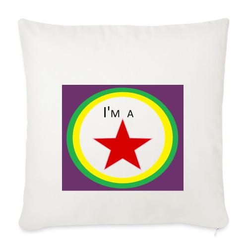 I'm a STAR! - Sofa pillowcase 17,3'' x 17,3'' (45 x 45 cm)
