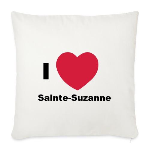 i love sainte suzanne - Housse de coussin décorative 45x 45cm