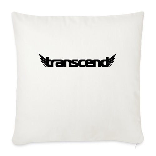 Transcend Mug - Black Print - Sofa pillowcase 17,3'' x 17,3'' (45 x 45 cm)