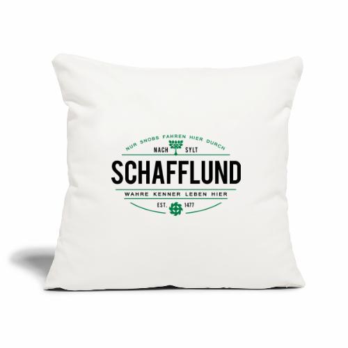 Schafflund - für Kenner 1 - Sofakissenbezug 44 x 44 cm