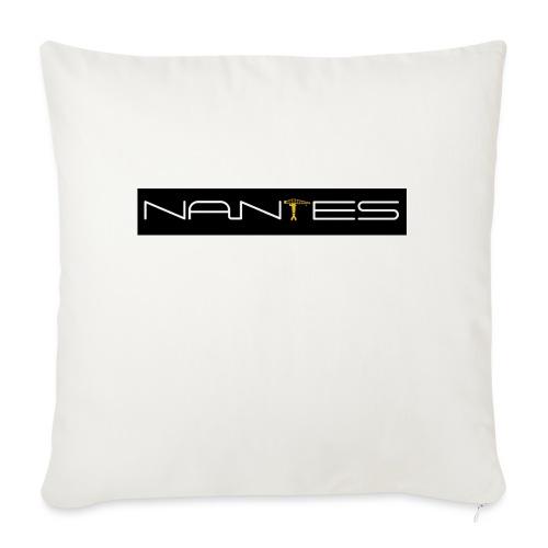 NanTes - Housse de coussin décorative 45x 45cm