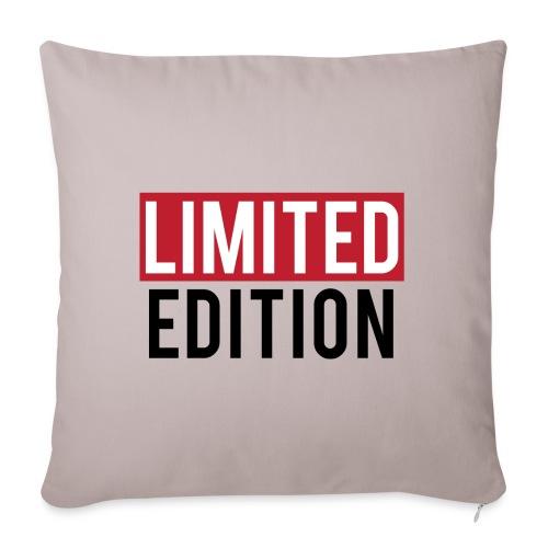 limited edition t shirt design text design - Copricuscino per divano, 45 x 45 cm
