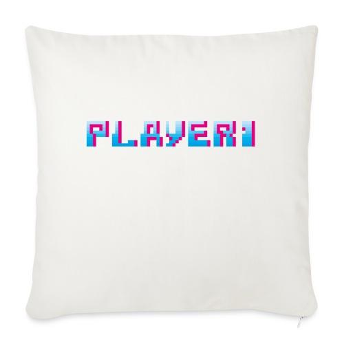 Arcade Game - Player 1 - Sofa pillowcase 17,3'' x 17,3'' (45 x 45 cm)