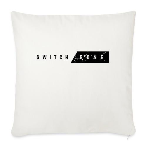 Switchbone_black - Sierkussenhoes, 45 x 45 cm