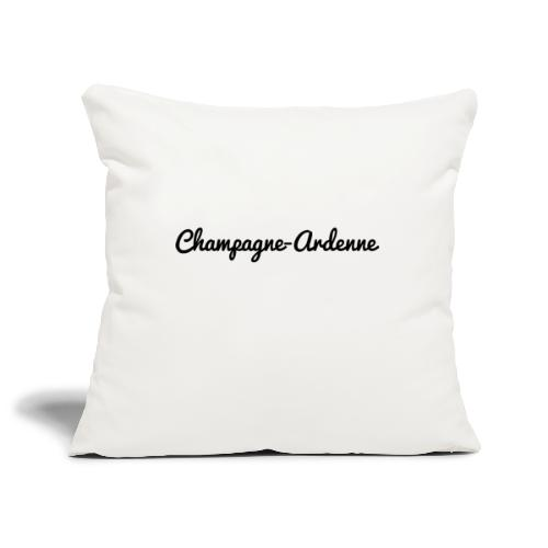 Champagne-Ardenne - Marne 51 - Housse de coussin décorative 45x 45cm