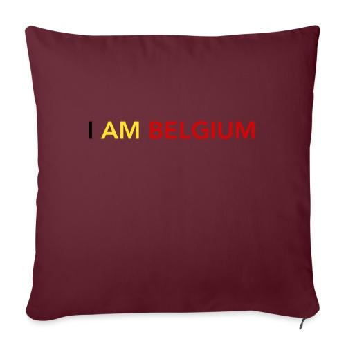 I AM BELGIUM - Housse de coussin décorative 45x 45cm