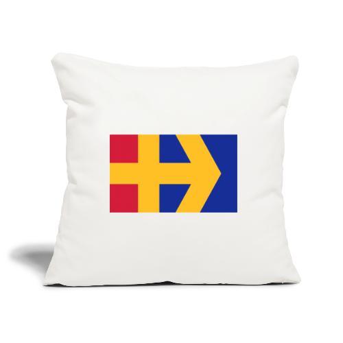 Åbolands flagga - Sohvatyynyn päällinen 45 x 45 cm