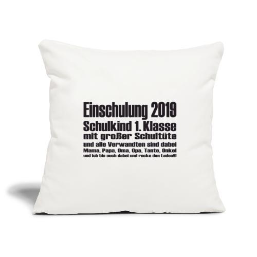 Einschulung-2019 - Sofakissenbezug 44 x 44 cm