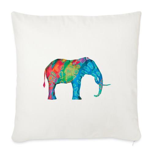 Elefant - Sofa pillowcase 17,3'' x 17,3'' (45 x 45 cm)